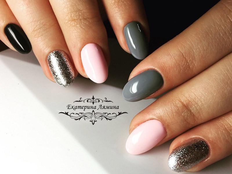 серый,мокрый асфальт,розовый и слюда