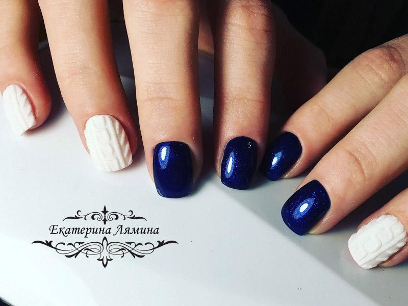 супер синий с вязкой 2